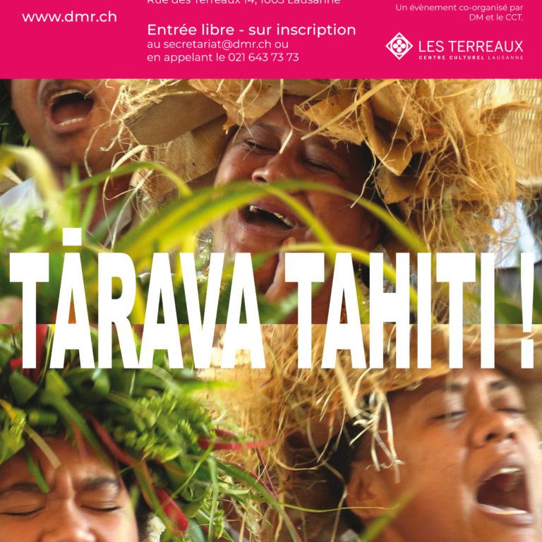 Tārava Tahiti! Projection du film suivie d'une table ronde